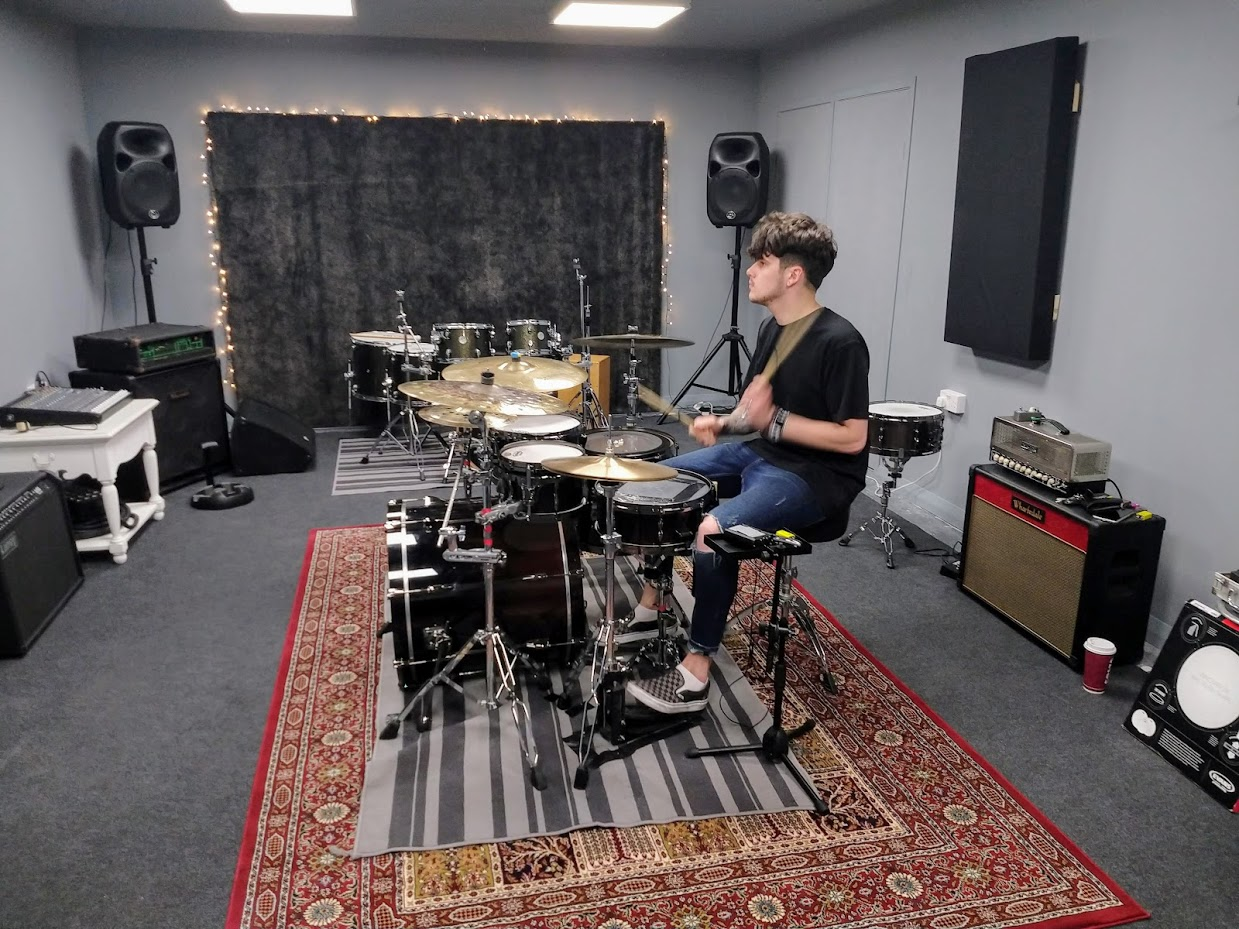 Exeter Rehearsal Studio Build Brazen Sound Studio Blog