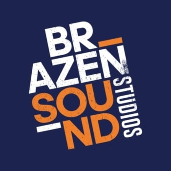 Exeter live band video promo - Brazen Sound Studios logo